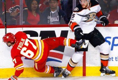 Ducks vencem Flames e assumem liderança da divisão do Pacífico - The Playoffs