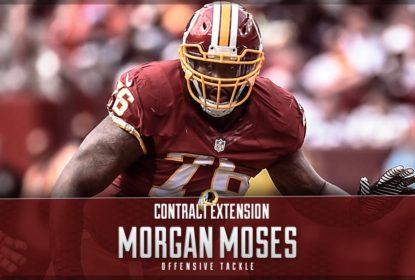 Morgan Moses revova por cinco anos com o Washington Redskins - The Playoffs