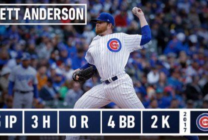 Brett Anderson consegue 1ª vitória com os Cubs - The Playoffs