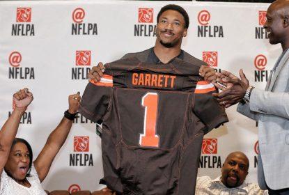 Myles Garrett sofre contusão em treino dos Browns - The Playoffs