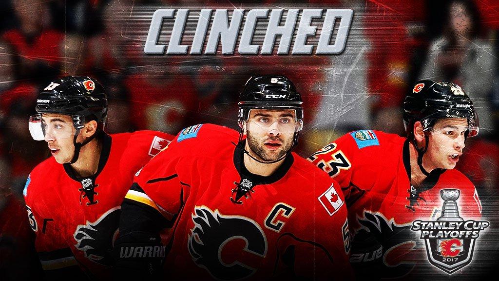 Flames vence Sharks e está nos playoffs