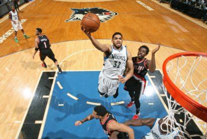 Timberwolves vencem Blazers e briga pela última vaga nos playoffs do Oeste continua - The Playoffs