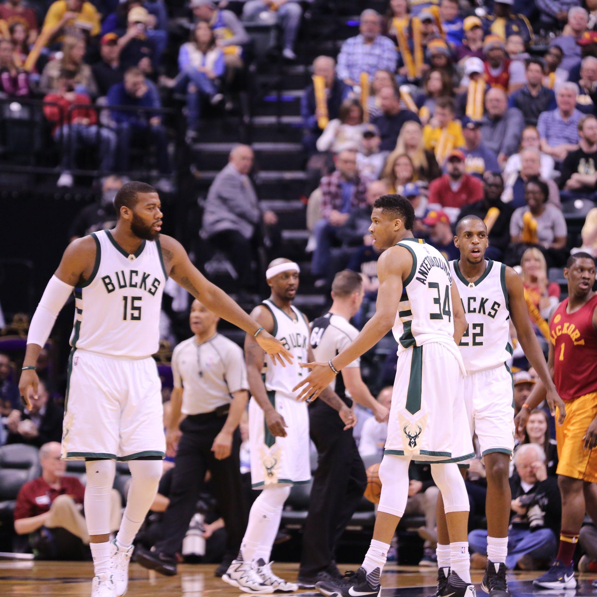 Bucks são derrotados pelos Pacers