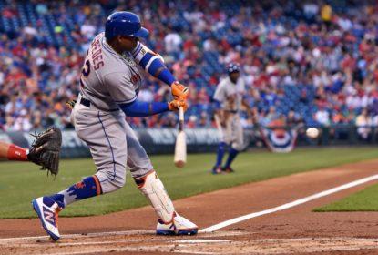 Cespedes consegue 3 HRs em vitória dos Mets sobre Phillies - The Playoffs