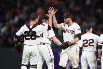 Giants vencem Dodgers com bom jogo de Matt Cain - The Playoffs