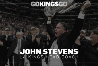 John Stevens anunciado como novo técnico do Los Angeles Kings - The Playoffs