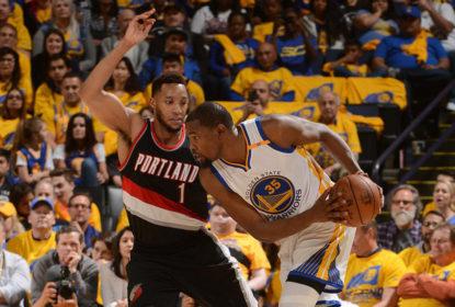 Portland Trail Blazers e Golden State Warriors devem entrar desfalcados para o jogo 2 - The Playoffs