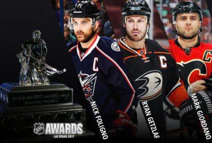 Foligno, Getzlaf, Giordano finalistas para o Mike Messier NHL Leadership Award - The Playoffs