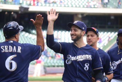 Em jogo com 22 rebatidas e 5 home runs, Milwaukee Brewers bate Cincinnati Reds - The Playoffs
