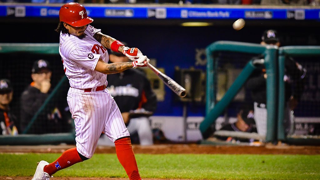 Philadelphia Phillies vence 5ª partida seguida, e varre Miami Marlins - The Playoffs
