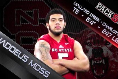Filho de Randy Moss anuncia que irá se transferir de NC State - The Playoffs