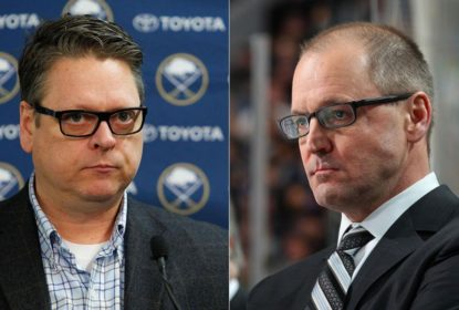 Treinador e general manager do Buffalo Sabres são demitidos - The Playoffs