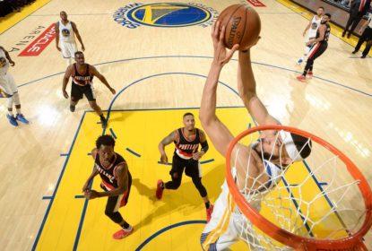 Com JaVale McGee inspirado, Warriors fazem 2 a 0 nos Blazers - The Playoffs