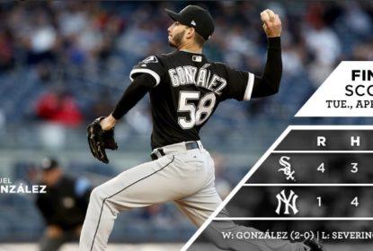 White Sox vencem Yankees com HRs de Avisail e Leury Garcia - The Playoffs