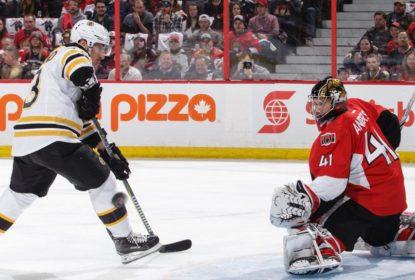 Brad Marchand marca gol da vitória dos Bruins contra o Ottawa Senators - The Playoffs