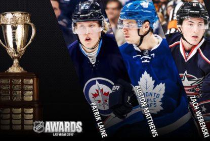 Quem merece vencer o Calder? NHL divulga candidatos ao prêmio - The Playoffs