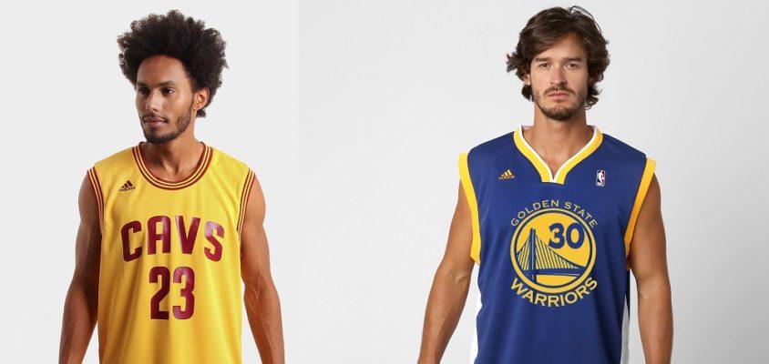 Camisas mais vendidas da NBA