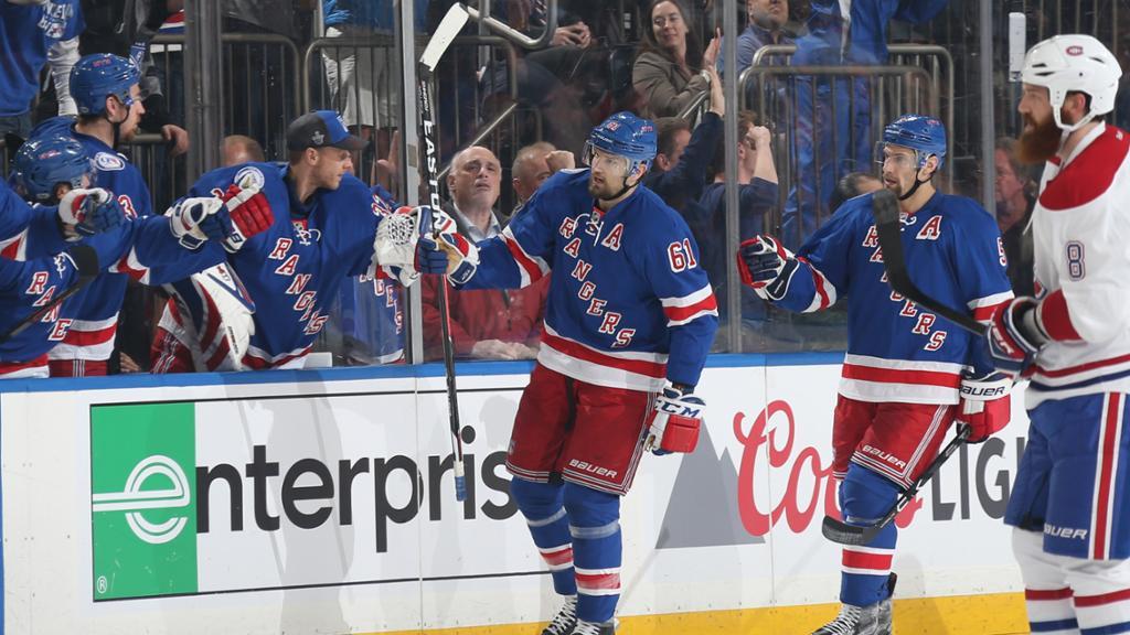 NY Rangers e Montreal: série empatada