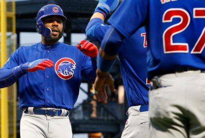 Ataque dos Cubs dá show em grande vitória contra Pirates - The Playoffs
