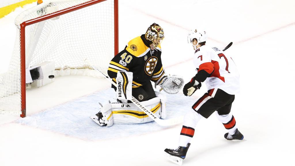 Ottawa Senators vence Boston Bruins e estão nos playoffs