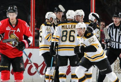 Em partida com 2 prorrogações, Bruins viramr sobre Senators e seguem vivos nos playoffs - The Playoffs