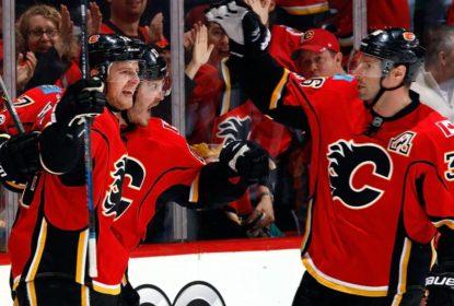 Calgary Flames bate San Jose Sharks e confirma vaga nos playoffs da NHL - The Playoffs