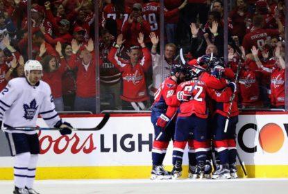 Washington Capitals vence Toronto Maple Leafs e volta a liderar a série - The Playoffs
