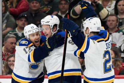 St. Louis Blues vence Minnesota Wild na prorrogação e elimina rival - The Playoffs