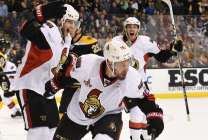 Ottawa Senators vence novamente na prorrogação e elimina Boston Bruins - The Playoffs