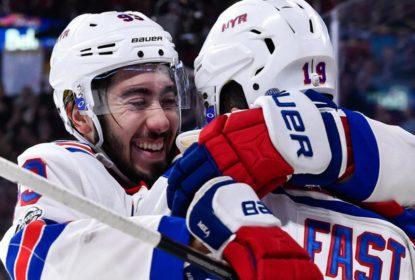 Rangers vencem Canadiens e assumem a liderança da série - The Playoffs