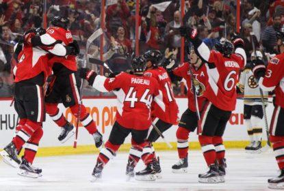 Senators batem Bruins com  virada sensacional e empatam série em 1-1 - The Playoffs