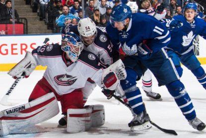 Maple Leafs perdem para Blue Jackets e enfrentam os Capitals nos playoffs - The Playoffs
