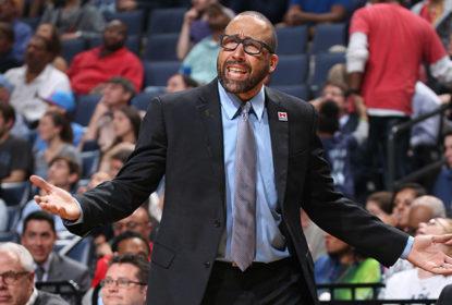 David Fizdale é multado pela NBA após criticar árbitros - The Playoffs