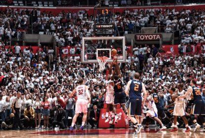 Com cesta no último segundo do veterano Joe Johnson, Jazz bate Clippers - The Playoffs