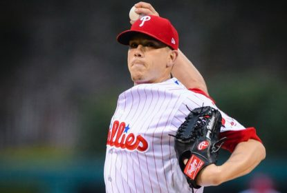 Jeremy Hellickson arremessa bem e Philadelphia Phillies bate Atlanta Braves - The Playoffs