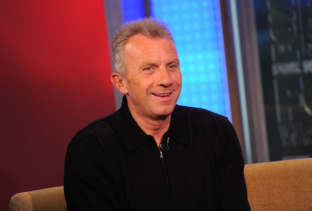 NEW YORK, NY - MAY 03: Former NFL Football Player Joe Montana visits FOX & Friends at FOX Studios on May 3, 2011 in New York City.