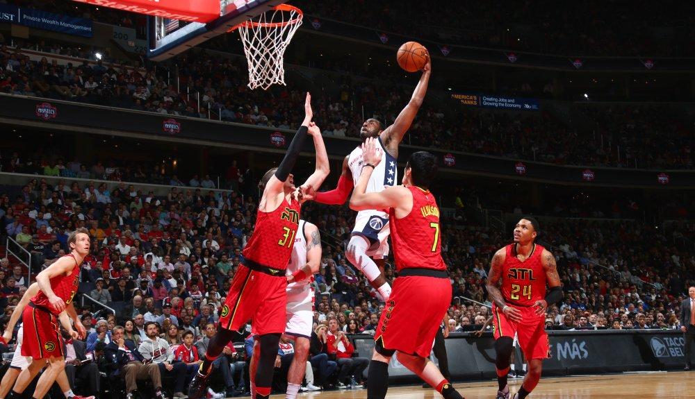 Wall e Beal lideram vitória dos Wizards sobre os Hawks para abrirem 3-2 - The Playoffs