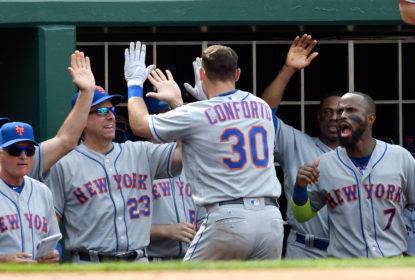 Com 2 home runs de Michael Conforto, Mets vencem e freiam boa fase dos Nationals - The Playoffs