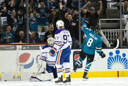 Sharks fazem 7 nos Oilers e empatam série dos Playoffs da NHL - The Playoffs