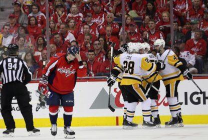 Penguins goleiam e ampliam vantagem na série contra Capitals - The Playoffs