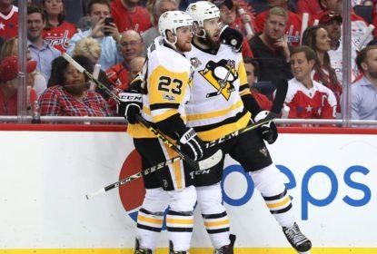 Bonino marca gol da vitória e Penguins saem na frente em série dura contra Capitals - The Playoffs