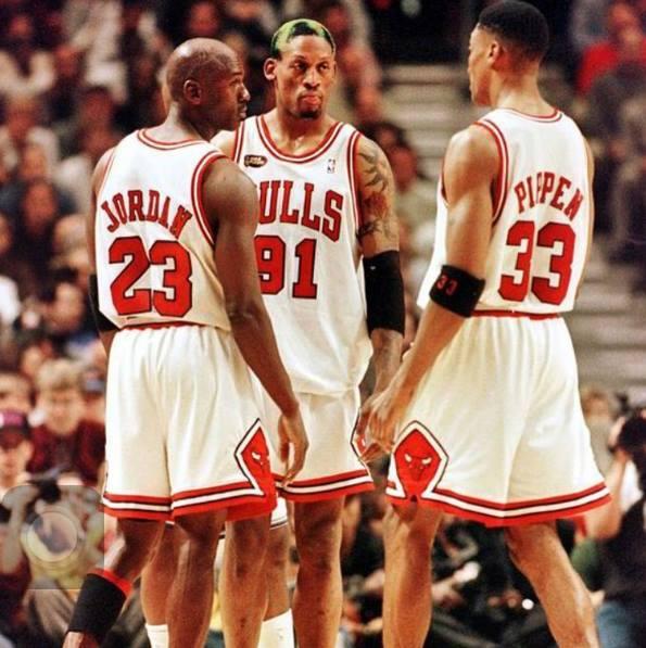 Jordan e Rodman