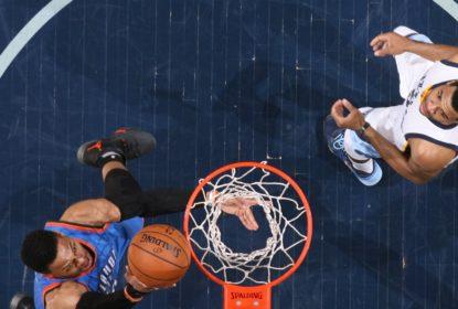 Thunder vence Grizzlies e Westbrook fica a um rebote do 42º triplo-duplo - The Playoffs