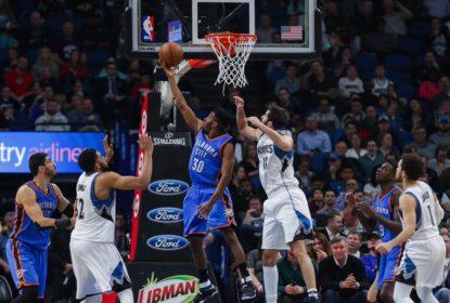 Sem Westbrook, Thunder consegue vitória contra Timberwolves fora de casa - The Playoffs