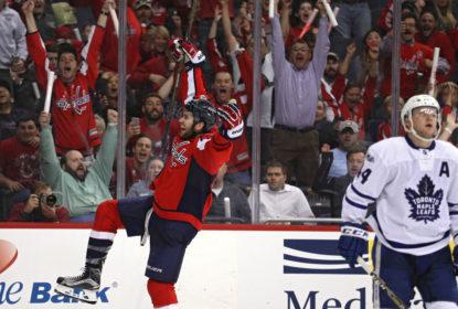 De virada, Capitals superam Maple Leafs e abrem 1-0 em série dos playoffs da NHL - The Playoffs