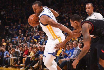 Liderados por Curry e Thompson, Warriors vencem Rockets em casa - The Playoffs