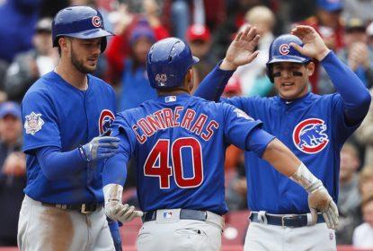 Grand slam de Willson Contreras lidera o Chicago Cubs a vencer o Cincinnati Reds - The Playoffs