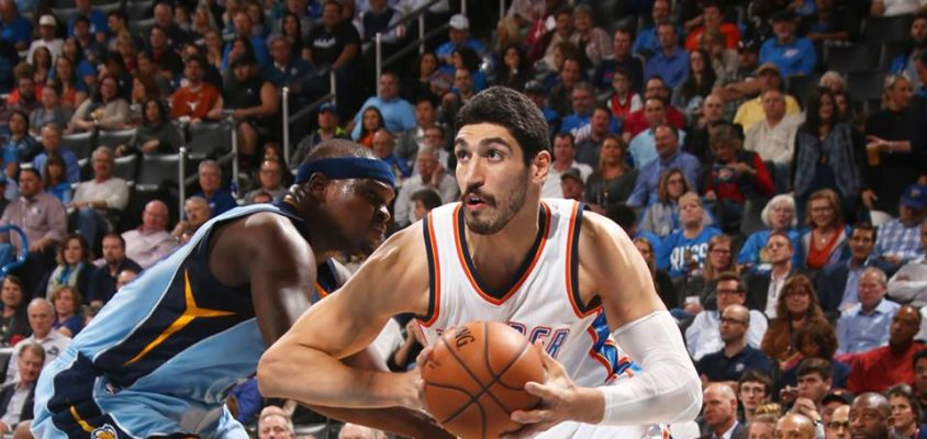 Enes Kanter Oklahoma City Thunder