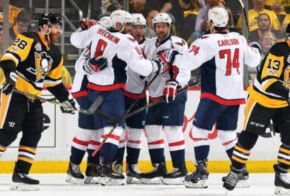 Na prorrogação, Capitals vencem Penguins e reagem nos playoffs - The Playoffs