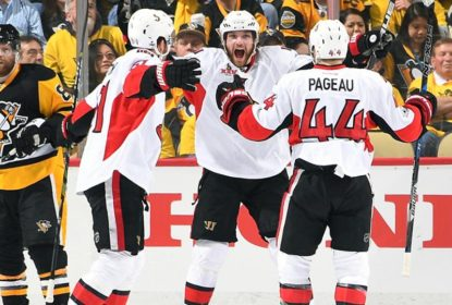 Na prorrogação, Senators vencem Penguins no jogo 1 da final do Leste - The Playoffs